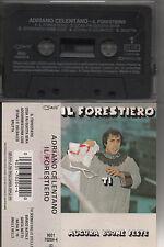 ADRIANO CELENTANO musicassetta originale MADE in ITALY ristampa 90 IL FORESTIERO