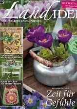 Landidee 2016 Nr.2 März April,Bärlauch Rezepte,Tischdeko,bunte Taschen,SEHR GUT!