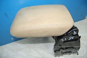 Audi A5 Cabriolet (8F7) Armlehne Mittelarmlehne Armauflage Leder beige 8K0864283