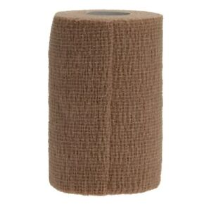 """CoFlex LF2 Quick-Stick Nonsterile Cohesive Bandages, Tan, 4"""" x 5 yd. - Each"""