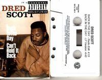Dred Scott Back In The Day 1994 Cassette Tape Single Rap Hiphop