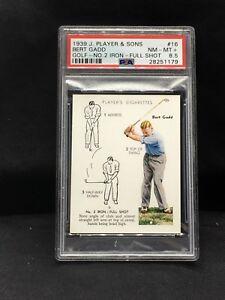 1939 John Player & Sons #16 Bert Gadd PSA 8.5