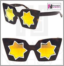 8802362cb5 Markus Lupfer Linda Farrow Star Tortoise Orange Mirrored Ml10 Cat Eye  Sunglasses
