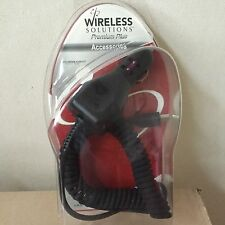 Wireless Solutions Car Vehicle Power Adapter for Blackberry 7250, 7105t, 7100i64