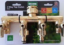 Holman 4 Way Metal Tap Outlet Australia Wide Postage Brand New