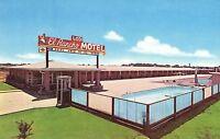 Vintage El Rancho Motel, Lodi, Cal. Vintage Postcard P9