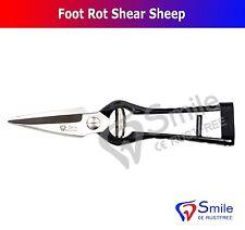 Foot Rot Shear Sheep Shears Hoof Trimming Scissors Sharp Serrated Blades New CE