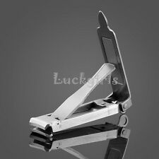 Folding Finger Toe Nail Clippers Cutter scissors Manicure Pedicure Stainless