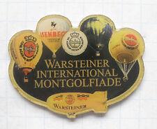 WARSTEINER WIM / ISENBECK / ZEPPELIN .... Bier-Ballon-Pin (107i)