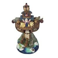"Musical Noah's Ark Figurine Plays Tune ""When the saints go marching in"""