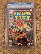 Iron Fist #15 (Sep 1977, Marvel) 35 cent price variant CGC 4.0 1st Byrne X-Men!