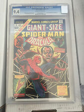Giant Size Spiderman #1 CGC 9.4 Dracula Human Torch John Romita free shipping