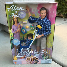 Barbie Doll Alan and Ryan Father & Son Happy Family 2002