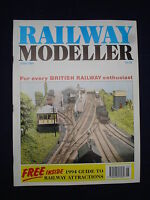 1 - Railway modeller - June 1994 - Contents page shown in photos