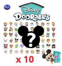 Disney Doorables Series 1 & 2 - bundle of 10 random genuine figures GREAT GIFT