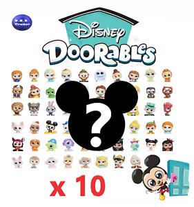 Disney Doorables Series 1 & 2 - bundle of 10 random genuine figures GREAT GIFT