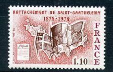 STAMP / TIMBRE FRANCE NEUF N° 1985 ** ILE DE SAINT BARTHELEMY