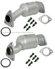 2005-2010 Fit NISSAN Frontier Catalytic Converter 2 PIECES PAIR with Gaskets