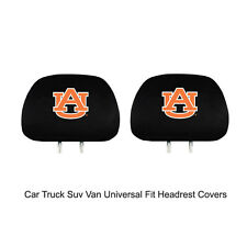 New Team ProMark NCAA Auburn Tigers Head Rest Covers For Car Truck Suv Van