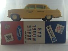 Jo-Han 1954 Plymouth Yellow Taxi-Cab