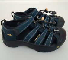 Keen Newport H2 Sandals Youth Size 12 Navy Blue Boys Water Shoes Beach Trail