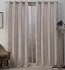 Exclusive Home Curtains Panel, 54x96, Blush, 2 Panels Set New