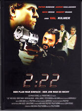 2:22 , strong limited Mediabook , incl. 3D Version ,uncut , Cover A , Val Kilmer