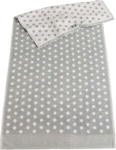 Lasa Handtücher Frottee gepunktet Duschtuch Waschhandschuh Gästetuch Handtuch c