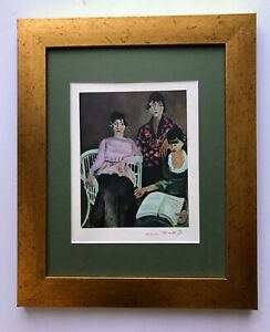 HENRI MATISSE 1948 AWESOME SIGNED PRINT MATTED 11 X 14 + BUY IT NOW