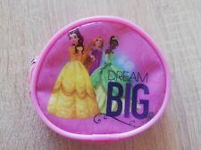 Girls Coin Purse Circular Disney Princess Pink