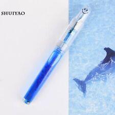 Lingmo LORELEI SMILE Transparent Clear Fountain Pen Fine Nib