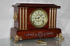 "Antique Seth Thomas Shelf Mantle Clock-Totally!-Restored- Model ""Leeds"" c/1905"
