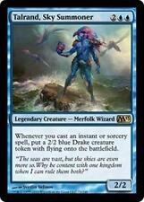 TALRAND, SKY SUMMONER M13 Magic 2013 MTG Blue Creature—Merfolk Wizard RARE Drake