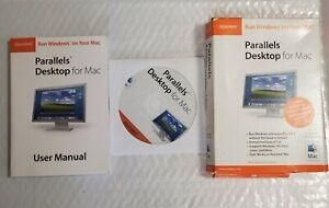 Paralels Desktop for Mac (2006) Nova Development Run Windows On Mac, Old Version