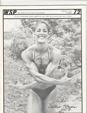 WSP #72 Women's Physique Publication Female Bodybuilding Valerie Mayers 1-82