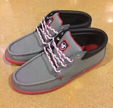DVS Hunt Grey Gunny Size 8 Boat Deck Skate Shoes $78 Box Price