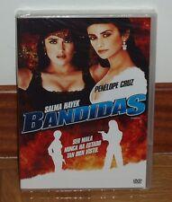 BANDIDAS - DVD - NUEVO - PRECINTADO - ACCION - COMEDIA - SALMA HAYEK - AVENTURAS