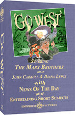 Night At The Movies w/ Go West - (1940) Starring The Marx Brothers - On DVD!