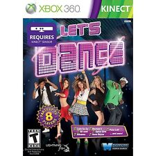 LETS DANCE XBOX 360 KINECT NEW! LADY GAGA, FERGIE, RIHANNA, JUST FAMILY FUN!