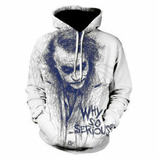 Joker Horror Characters Movies Fashion Hoodie 3D Print