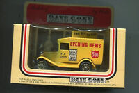 Lledo Days Gone 1985 Delivery Van Evening News First With The News die cast MIB