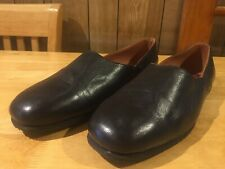 Mens Slippers Clifford James Leather Carlton Grecian Slip On Brown UK Size 14