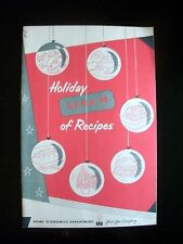 Holiday Album of Recipes Pittsburgh Group Companies Columbia Gas VTG Cookbook