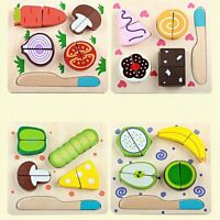3D Puzzle Toys for Children Early Educational Fruit Board Puzzle Kids Model