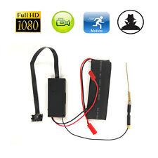 Wireless HD 1080P WiFi Mini Spy Hidden IP Camera DIY Module IR Night Vision DVR
