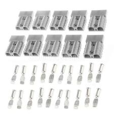 10pcs Grau 50A 8AWG Draht Batterie Schnellanschluss-Stecker Winch Stecker
