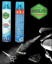 NANO CLIPPERS SCISSORS METAL MATERIALS TOOLS CLEANING SPRAY %80 ALCOHOL 300 ML