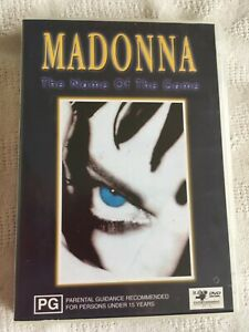 MADONNA - THE NAME OF THE GAME - DOCUMENTARY/BIOGRAPHY - NEAR NEW - 0STD POST