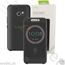 Genuine HTC Ice View Case Cover for HTC 10 Black Official BRAND NEW 99H20194-00