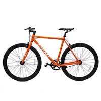 Fixer Bike Alumium Alloy Urban Bike Flip Flop Hub City Bike Riser Bar 700c 54cm
